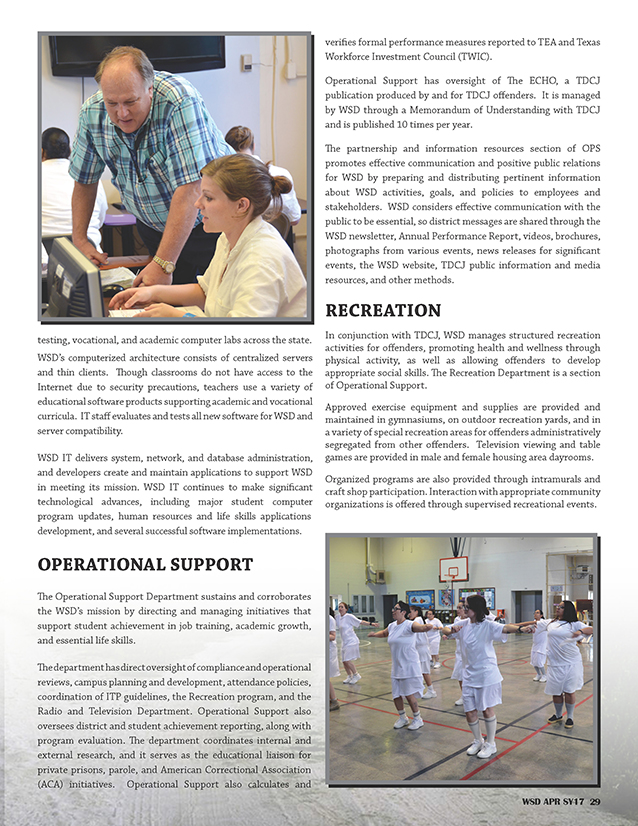 Annual Performance Report 2016-2017