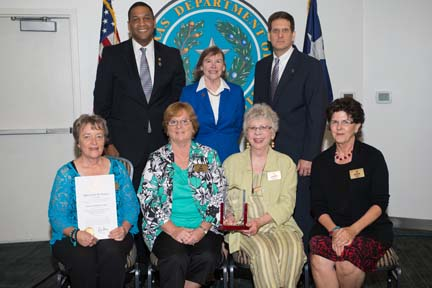 Literacy Highland Lakes Receives Governor's 2014 Criminal Justice Volunteer Award