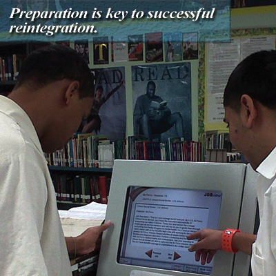 Preparation is key to successful reintegration.
