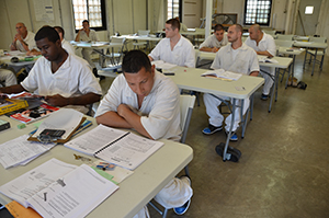 WSD integrates vocational and literacy skills to help prepare offenders for successful lives after release.