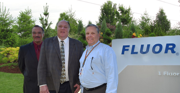 IMG - Industry support: WSD thanks Fluor