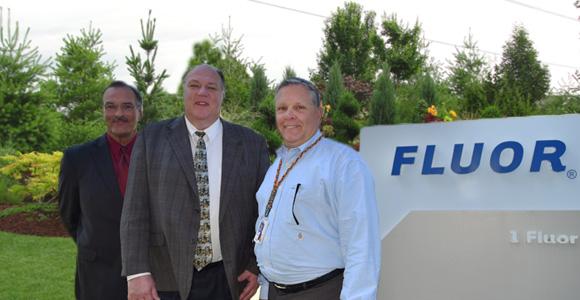 Soporte industrial: WSD agradece a Fluor