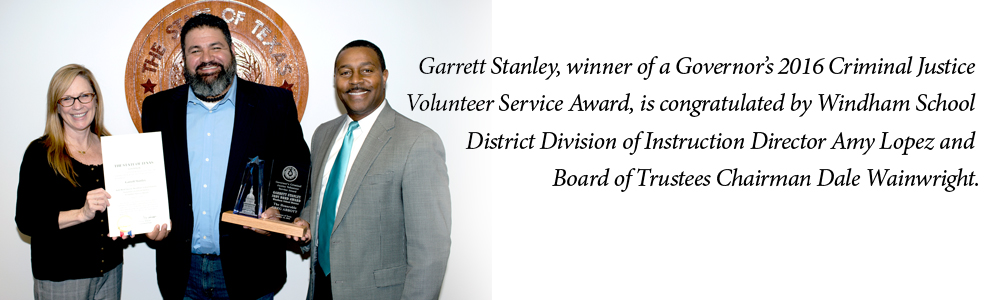 Main Image - Garret Stanley wins 2016 Governor's Volunteer Award