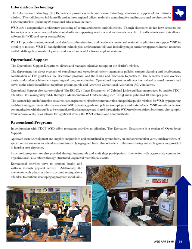 Annual Performance Report 2015-2016