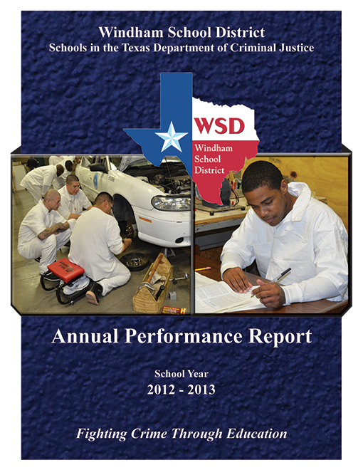 Annual Performance Report 2012-2013