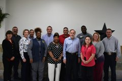 Ellis Unit WSD and TDCJ Staff
