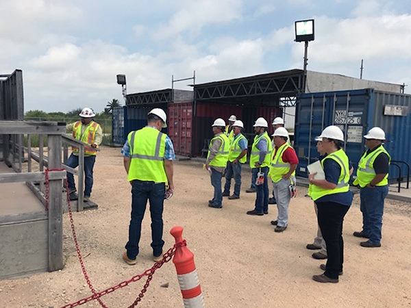 WSD's Career and Technical Education (CTE) Electrical and Welding teachers had an opportunity to tour the Bechtel LNG job site located in Corpus Christi