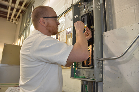 Electrical training with Windham School District is one of the Career and Technical Education programs leading to licensure for program completers.