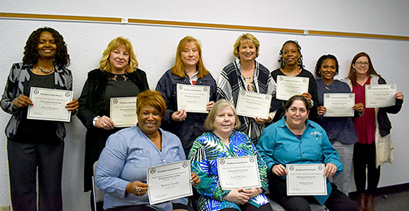 Diagnosticians, Regional Principals, Counselors attended Motivational Interviewing training