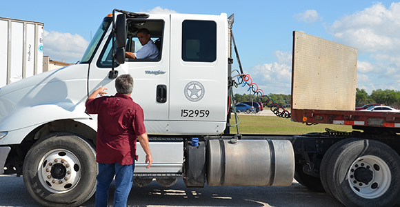 Career driven: Truck Driving Program Steering offenders to self-improvement