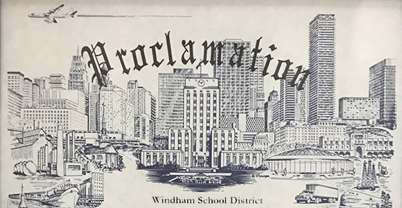 City of Houston commends the Windham School District for its commitment