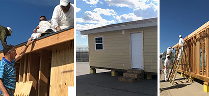 TINY HOUSE: WSD rebuilds lives at Dalhart