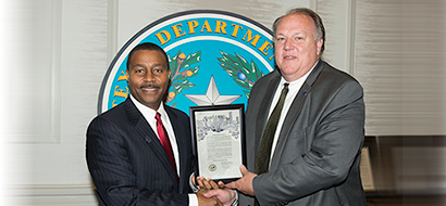 Chairman extends Board's appreciation to  the City of Houston for recognizing WSD